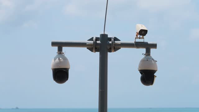 surveillance camera - pacific islands stock videos & royalty-free footage