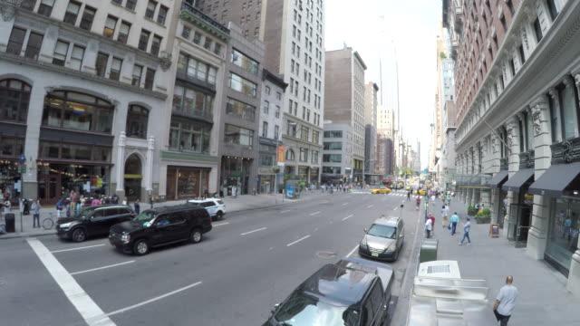 surveillance footage nyc street traffic - mp stock videos & royalty-free footage