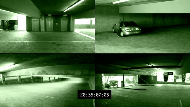 surveillance footage - night vision stock videos and b-roll footage