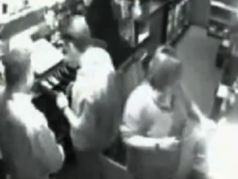 surveillance video catches the moment a bar worker falls through a trap door in the floor after one of her coworkers opens it and doesn't tell her... - misfortune stock videos & royalty-free footage