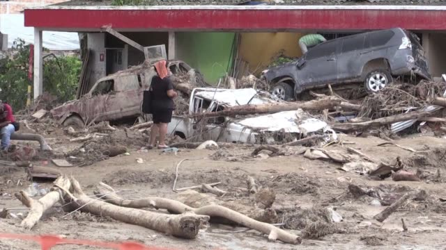 survivors described gruesome scenes in the colombian town of mocoa sunday after mudslides killed 210 people as rescuers kept up a desperate search... - death stock videos & royalty-free footage