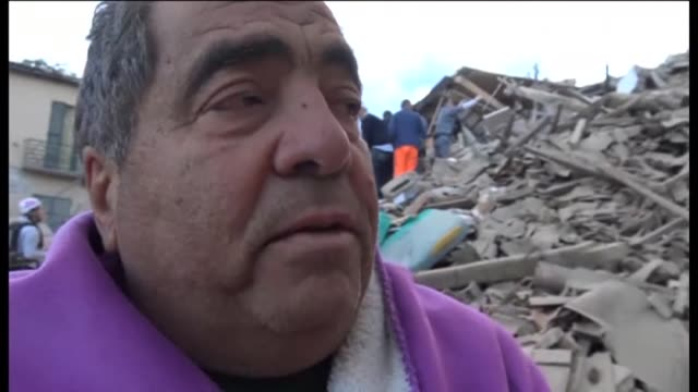 Survivors of Italys deadly quake in the region of Reiti which has left more than 120 people dead try to come to terms with the aftermath while the...