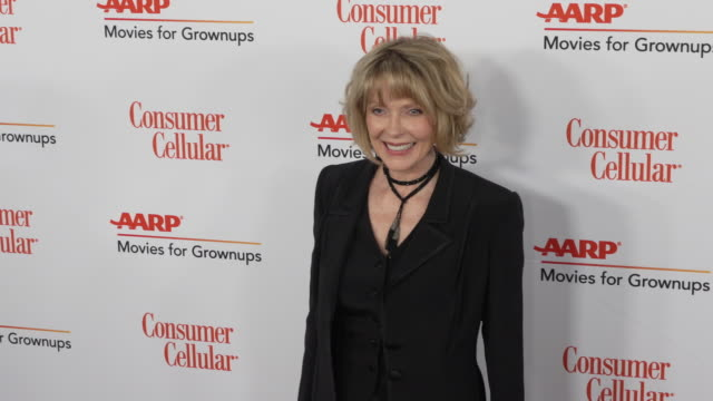 susan blakely at the 18th annual movies for grownups awards at the beverly wilshire four seasons hotel on february 04, 2019 in beverly hills,... - フォーシーズンズホテル点の映像素材/bロール