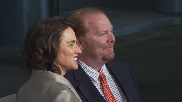 Susan Cahn and Mario Batali at the Food Bank for New York City's 8th Annual CanDo Awards Dinner at New York NY