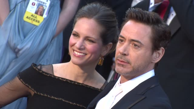 Susan Downey Robert Downey Jr at the 83rd Annual Academy Awards Arrivals Part 3 at Hollywood CA