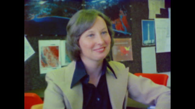susan norman research scientist explains how professional female scientists were a minority when she first began working in science - gender equality stock videos & royalty-free footage