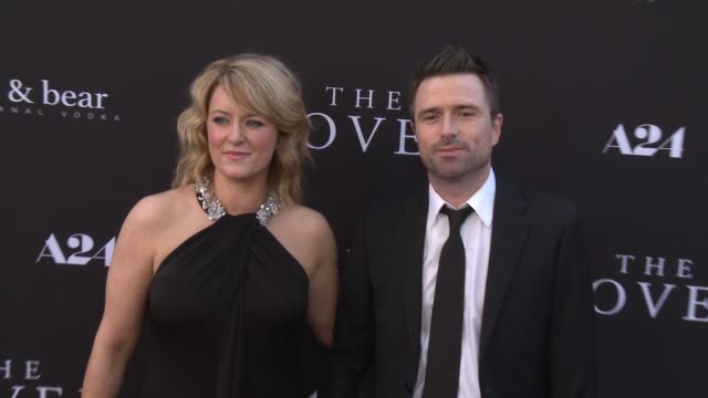 susan prior and david michod at the rover los angeles premiere at regency bruin theatre on june 12 2014 in los angeles california - regency style stock videos and b-roll footage