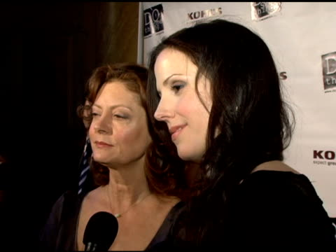Susan Sarandon and MaryLouise Parker at the 2006 BRICK Awards from Do Something in Celebration of Young Social Entrepreneurs and Celebrity and...