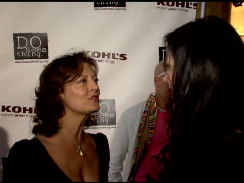 susan sarandon and mary-louise parker at the 2006 brick awards from do something in celebration of young social entrepreneurs and celebrity and... - do something awards stock videos & royalty-free footage