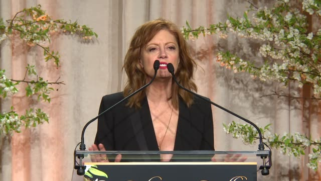 susan sarandon at 8th annual blossom ball to benefit the endometriosis foundation of america at pier sixty at chelsea piers on april 19, 2016 in new... - chelsea piers stock videos & royalty-free footage