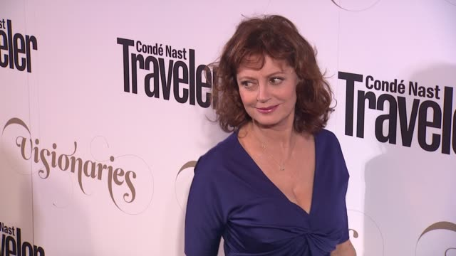 Susan Sarandon at Conde Nast Traveler Celebrates 'The Visionaries' And 25 Years Of Truth In Travel in New York 09/18/12