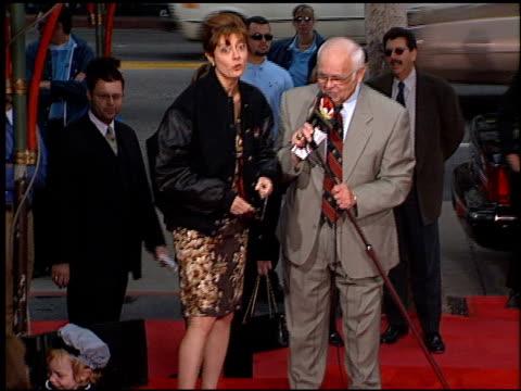 susan sarandon at the dedication of susan sarandon's footprints at grauman's chinese theatre in hollywood, california on january 11, 1999. - スーザン・サランドン点の映像素材/bロール