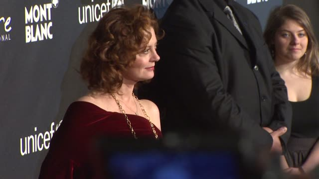 Susan Sarandon at the Montblanc Signature for Good Event In Association With UNICEF at Los Angeles CA