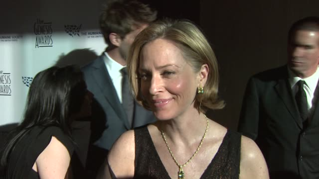 Susanna Thompson on the event the Canadian Seal Hunt honoring Ellen Degeneres and Portia deRossi at the 23rd Genesis Awards at Los Angeles CA