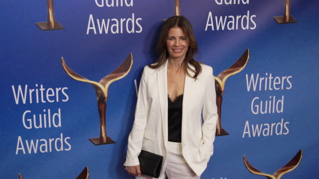 susannah grant at the 2020 writers guild awards at the beverly hilton hotel on february 01, 2020 in beverly hills, california. - the beverly hilton hotel stock videos & royalty-free footage