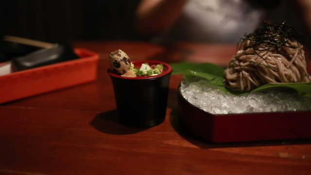 sushi - wasabi sauce stock videos and b-roll footage