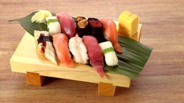 sushi - 遠距離拍攝 個影片檔及 b 捲影像