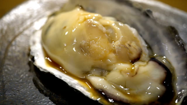 sushi - oyster shell stock videos & royalty-free footage