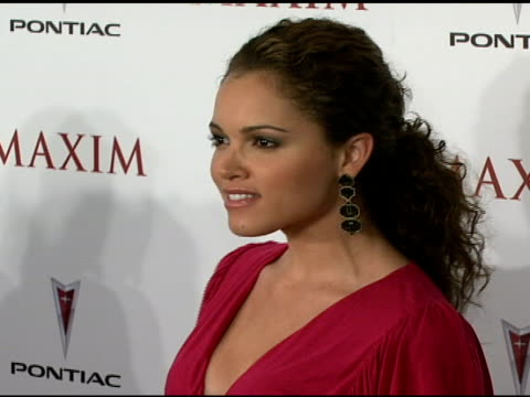 Susie Castillo at the Maxim's 8th Annual Hot 100 Party at Ono at The Gansevoort Hotel in New York New York on May 16 2007