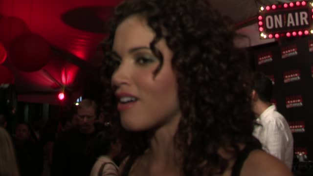 susie castillo talks about the list at the 2006 maxim hot 100 party at buddha bar in new york, new york on may 18, 2006. - ブッダバー点の映像素材/bロール