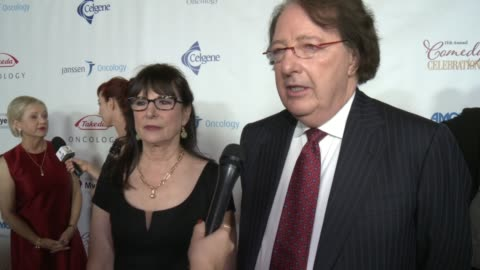 stockvideo's en b-roll-footage met susie novis and dr. brian durie on if they can you briefly explain multiple myeloma, and why it's important for everyone to be aware about this... - wilshire ebell theatre