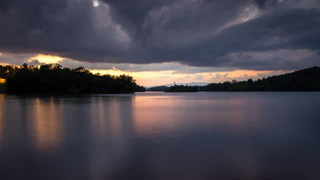 Sunset auf See Chatuge - Zeitraffer