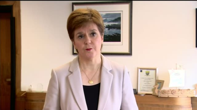 suspect shot dead by police after six injured in glasgow stabbing attack scotland int nicola sturgeon msp interview sot clearly there have been some... - transparent stock videos & royalty-free footage