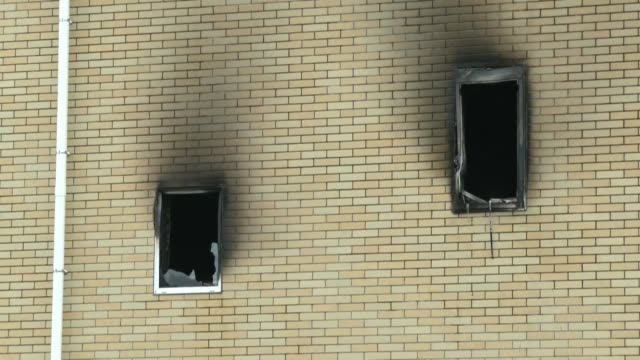 suspected arson attack at an animation production company in japan has left 33 people dead and dozens more injured after a man reportedly doused the... - flammable stock videos & royalty-free footage