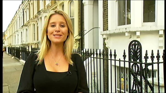 suspected burglar gets stuck in window england london bow ext reporter to camera liz interview sot talks of seeing pair of legs wiggling from next... - burglar stock videos & royalty-free footage