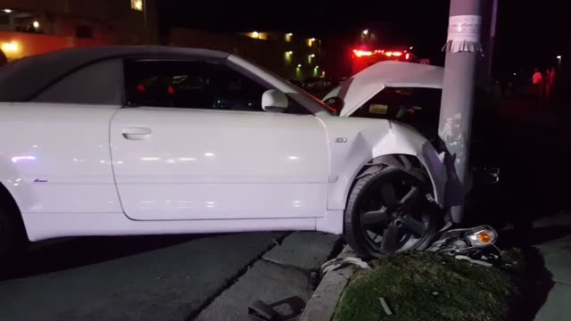 A suspected drunk driver caused a major collision tonight at Vanowen and Mammoth street in Van Nuys Multiple parties were transported to the hospital