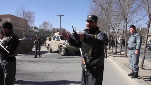 A suspected suicide attack at a facility hosting a news agency and a cultural center in the Afghan capital Kabul on December 28 2017 has claimed...