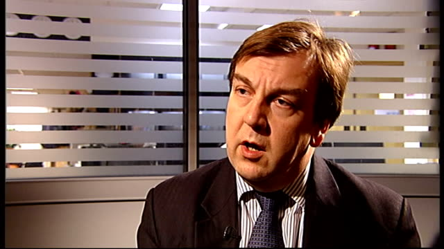 itv suspends premium rate phonein competitions during audit gir int john whittingdale mp interview sot - audit stock videos and b-roll footage