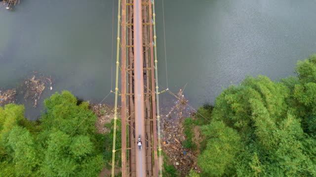 Suspension bridge in Lombok