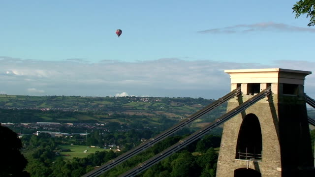 suspension bridge - bristol england stock videos & royalty-free footage