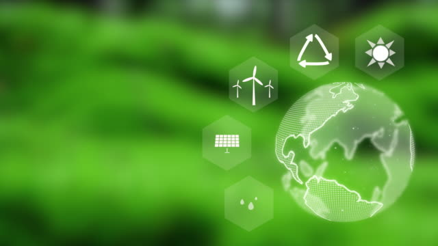 vídeos de stock e filmes b-roll de sustainability, natural energy, solar energy - ecossistema