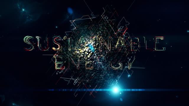 vídeos de stock, filmes e b-roll de cubo de energia sustentável - poupança