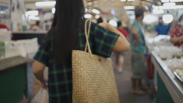 sustainable shopping - shopaholic stock videos & royalty-free footage