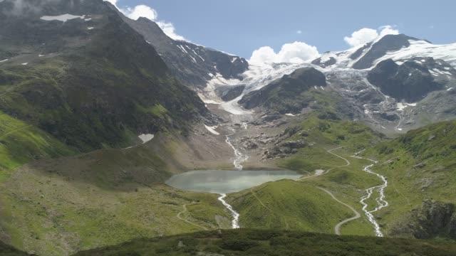 Sustenpass, Glacier Steingletscher, Switzerland, Europe