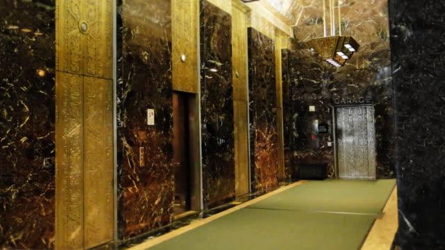 sutter hall street, san francisco, california, - lobby video stock e b–roll