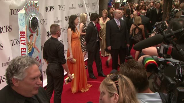Sutton Foster at the 63rd Annual Tony Awards Red Carpet at New York NY