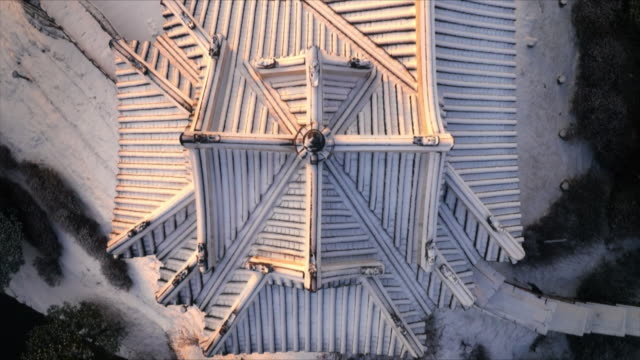 suwon hwaseong fortress (unesco world heritage site) roof covered in snow - suwon stock videos and b-roll footage