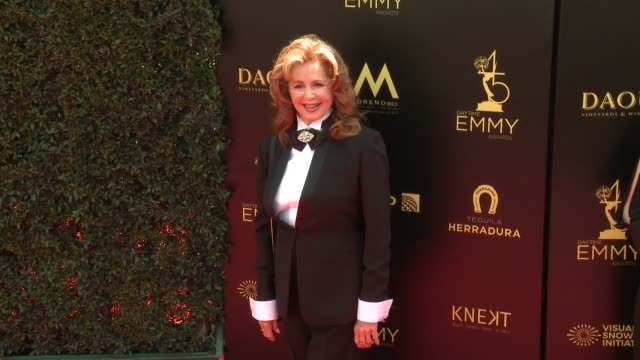 Suzanne Rogers at the 2018 Daytime Emmy Awards at Pasadena Civic Auditorium on April 29 2018 in Pasadena California