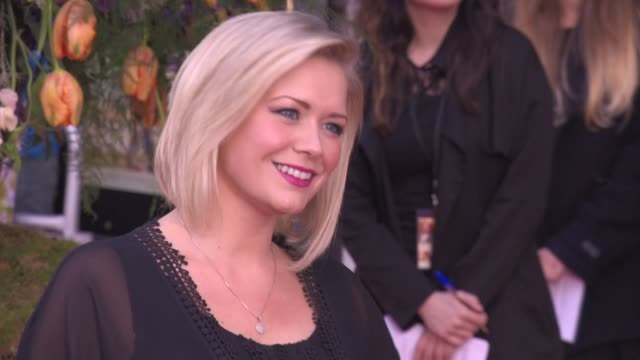 suzanne shaw at a little chaos premiere at odeon kensington on april 13 2015 in london england - odeon cinemas stock videos & royalty-free footage