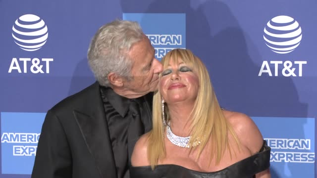 suzanne somers alan hamel at 30th annual palm springs international film festival film awards gala in palm springs ca - suzanne somers stock videos & royalty-free footage