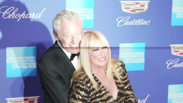 Suzanne Somers and Alan Hamel at the 29th Annual Palm Springs International Film Festival Awards Gala at Palm Springs Convention Center on January 02...
