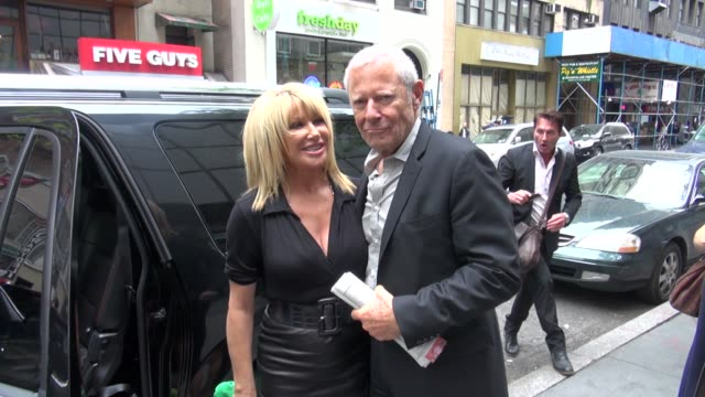 suzanne somers and alan hamel at the 'today' show studio suzanne somers and alan hamel at the 'today' show on may 08 2012 in new york new york - suzanne somers stock videos & royalty-free footage