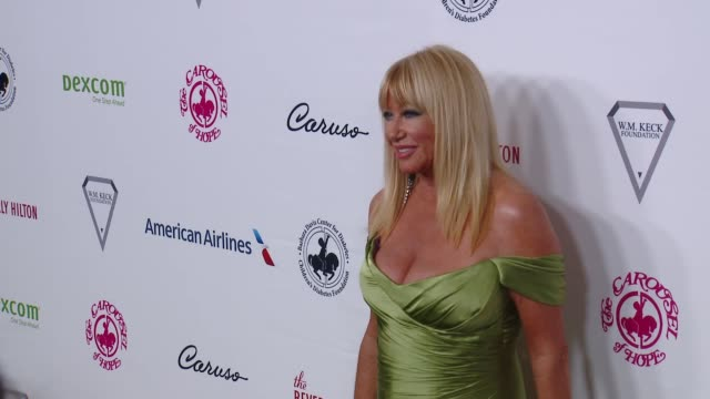 suzanne somers at 2018 carousel of hope ball at the beverly hilton hotel on october 06 2018 in beverly hills california - suzanne somers stock videos & royalty-free footage