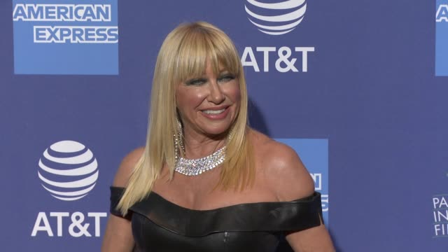 suzanne somers at 30th annual palm springs international film festival film awards gala in palm springs ca - suzanne somers stock videos & royalty-free footage