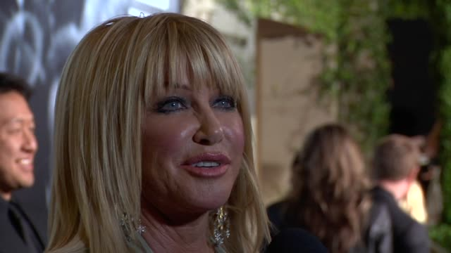 suzanne somers at the 2010 vanity fair oscar party hosted by graydon carter at west hollywood ca - suzanne somers stock videos & royalty-free footage