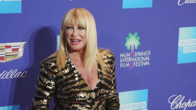 Suzanne Somers at the 29th Annual Palm Springs International Film Festival Awards Gala at Palm Springs Convention Center on January 02 2018 in Palm...